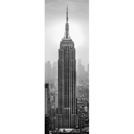 Empire State Building in a city Manhattan New York City New York State USA Poster Print (8 x 10)
