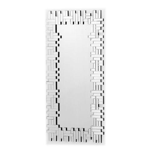 Zuo Modern Shard Mirror Shard Framed Rectangular Mirror by Zuo Modern