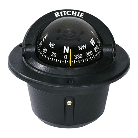 RITCHIE COMPASSES F-50 Compass, Flush Mount, 2.75