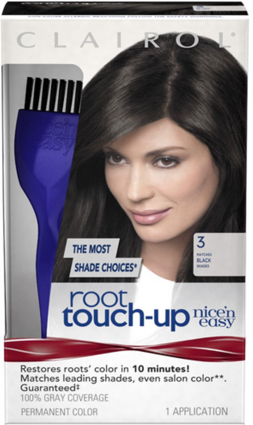Roux Temporary Haircolor Touch Up Stick Medium Brown 1 Ea Pack Of
