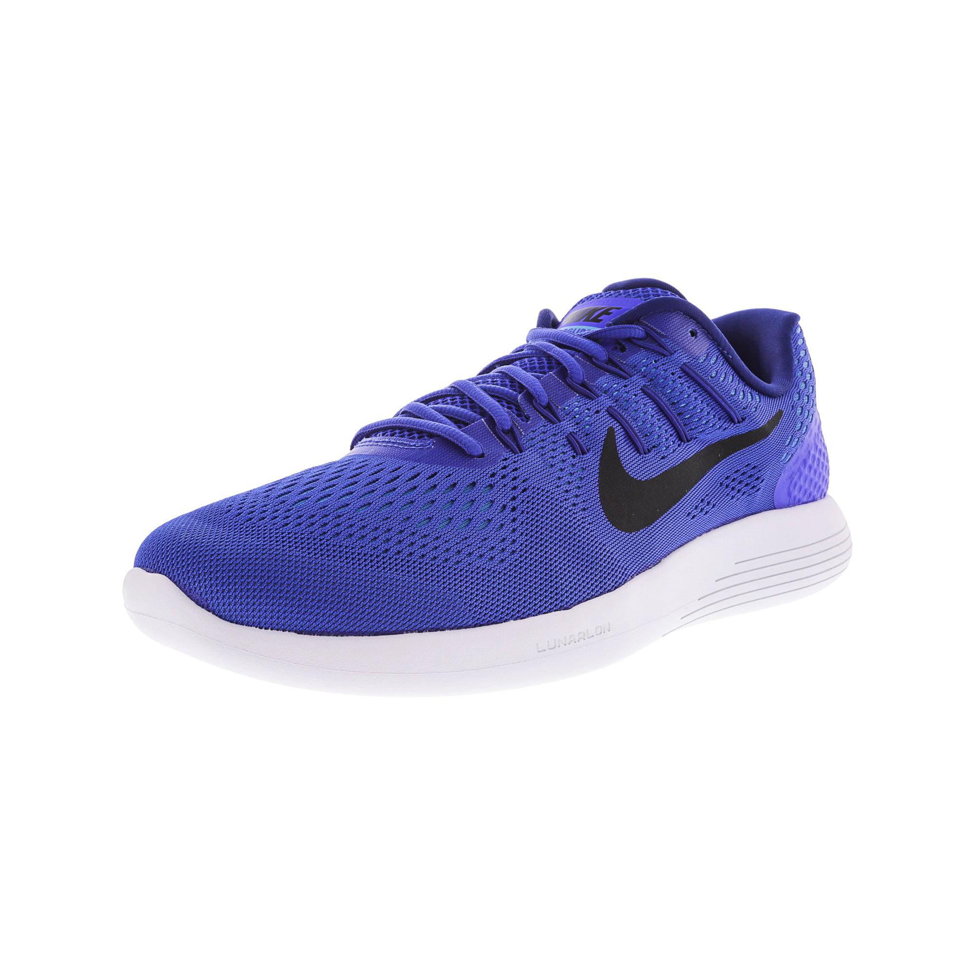 competitive price 1ad14 fc084 Nike Men's Lunarglide 8 Racer Blue / Black Ankle-High ...
