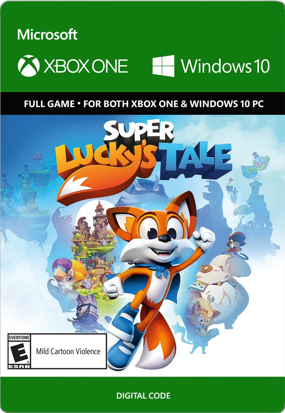 Super Lucky's Tale, Microsoft, Xbox One and Win 10 (Email Delivery)