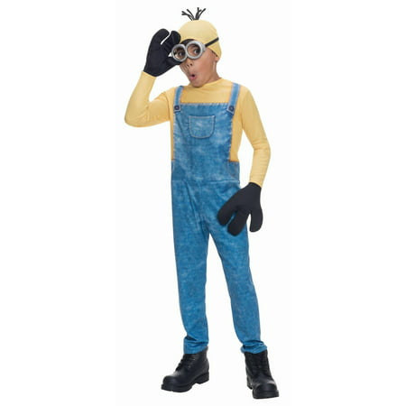 Minions Movie Minion Kevin Child Halloween Costume](Minion Halloween Costume Girls)