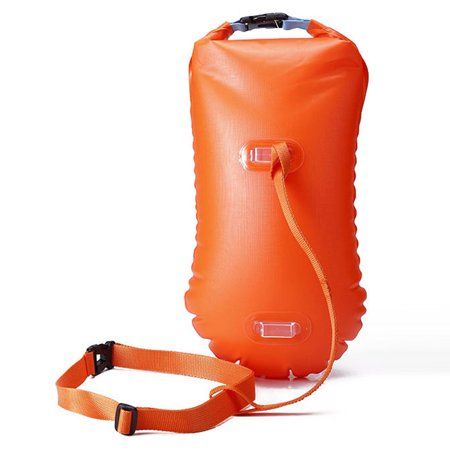 Multifunctional Waterproof PVC Swimming Buoy Safety Air Dry Float Bag Tow Float Swimming Inflatable Flotation (Air Bag Safety)
