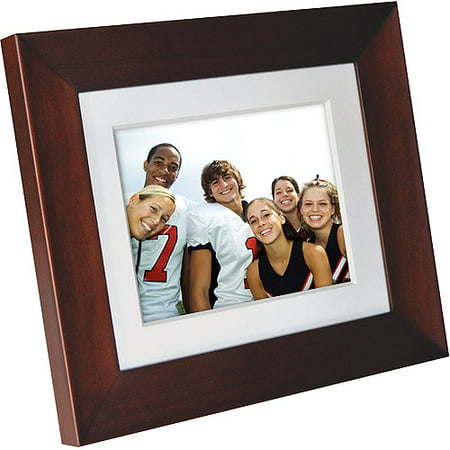 Philips 8 Digital Photo Frame Brown Walmartcom