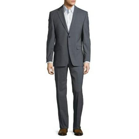 Notch Lapel Wool Suit - Wool Tux