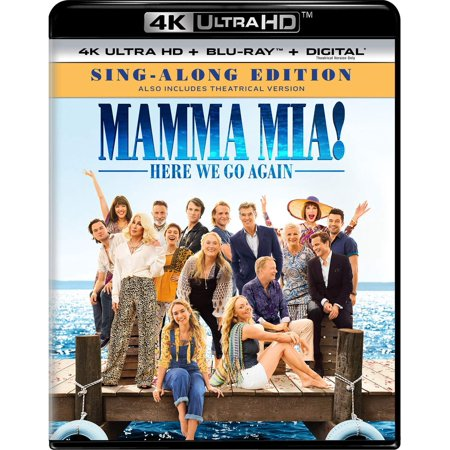 Mamma Mia: Here We Go Again 4K + Blu-ray + Digital - Mamma Mia Halloween