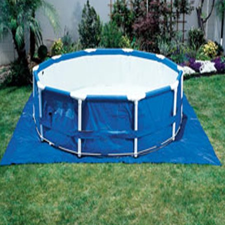 Intex Pool Ground Cloth covid 19 (White Wading Pool coronavirus)