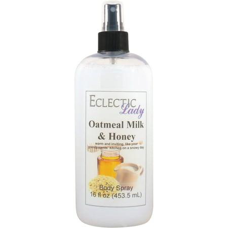 Oatmeal Milk And Honey Body Spray, 16 ounces