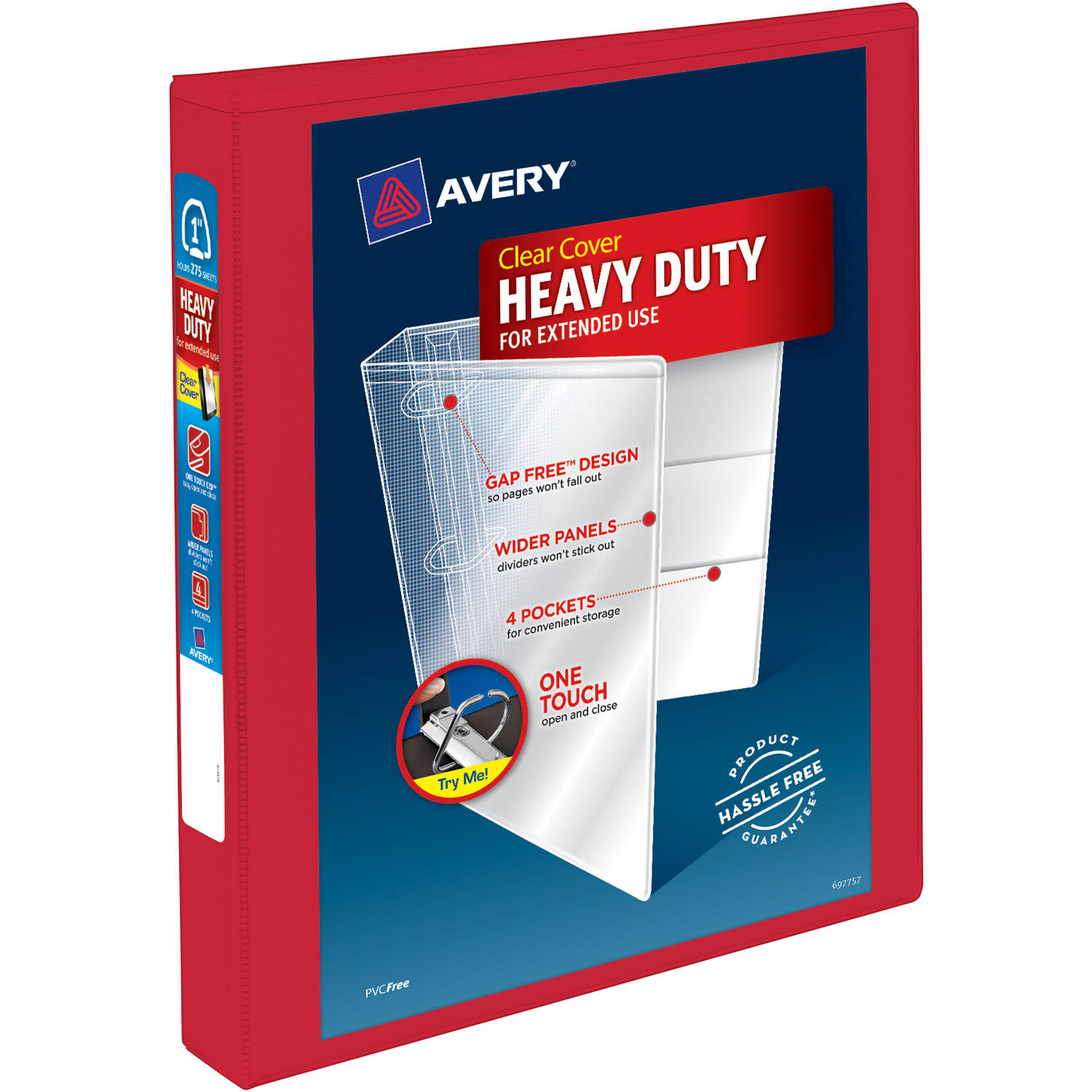 Avery Clear Cover Heavy Duty Binder, 1.0 CT