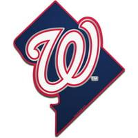 Washington Nationals WinCraft Metallic State Shape Acrylic Auto Emblem