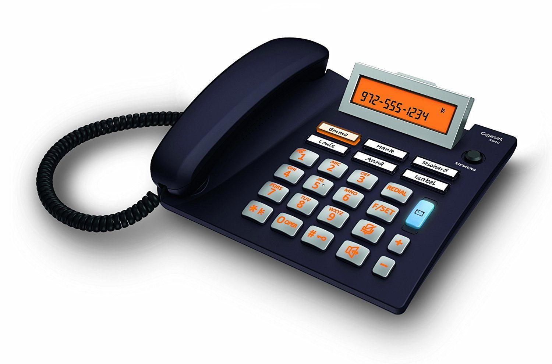 Phone Landline, Siemens Es5040 Home Office Desk Line Corded Phone Speaker by Siemens