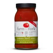 Farm to Fork Tomato Basil Sauce 23.5 Oz