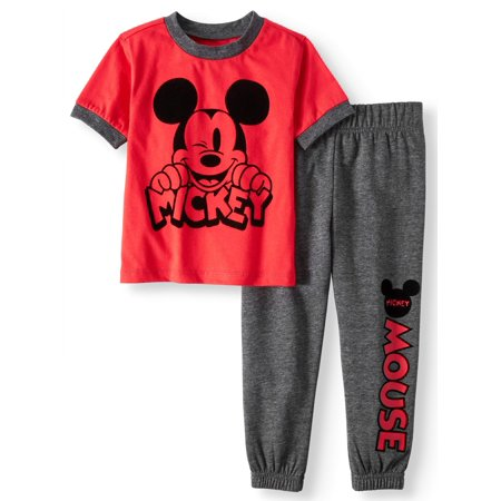 T-shirt & Jogger Pants, 2pc Outfit Set (Toddler Boys)