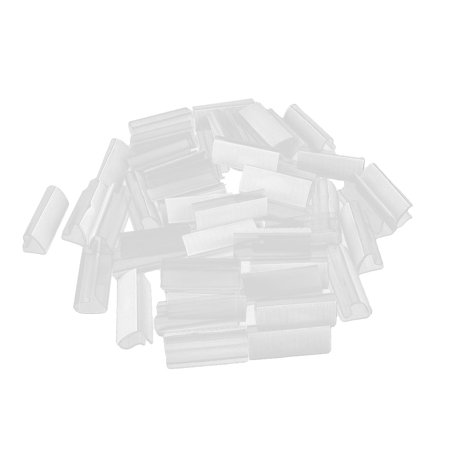 Home Wedding Party Banquet Plastic Hook Loop Table Cloth Skirting Clip 50 Pcs