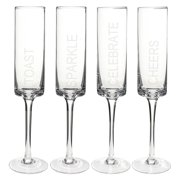 Cathys Concepts CB3668-4 Celebrate Cylinder Flutes - Set of 4