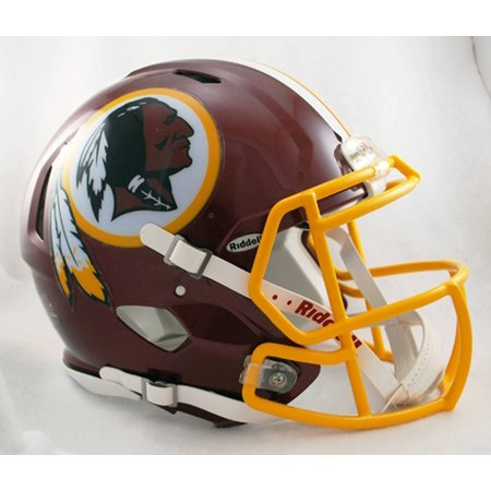 Revolution Speed Mini Helmet - Washington Redskins, The Speed mini helmet uses the special order facemask worn by most of the star players who choose to wear this.., By Riddell from USA