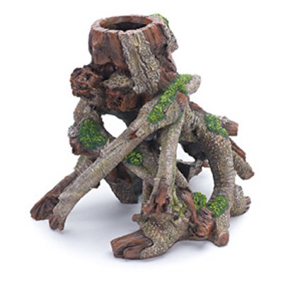 Penn Plax Tree Trunk Aquarium Ornament