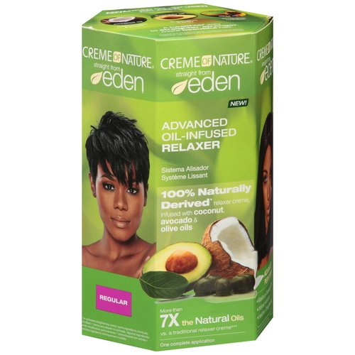 Colomer Creme of Nature Straight from Eden Relaxer, 1 ea
