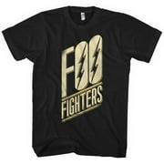 Foo Fighters Slanted Logo Slim Fit Classic T-Shirt