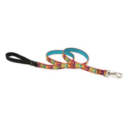 75 in. Crazy Daisy 6 ft. Padded Handle Dog Leash - image 1 de 1