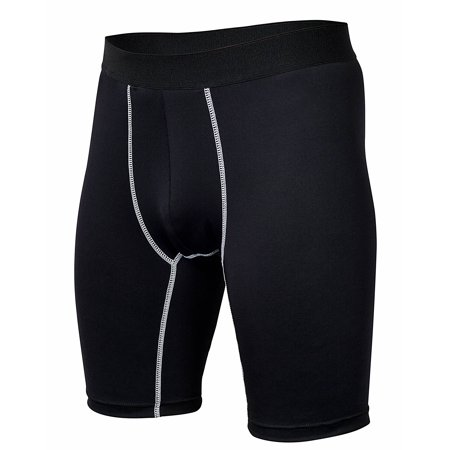 Men's All-Weather Compression Shorts Best for Workouts, Running, Weight
