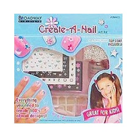 KISS Broadway Little Diva Nail Art Kit - CreateANailArt (Pro Nail Art Set)