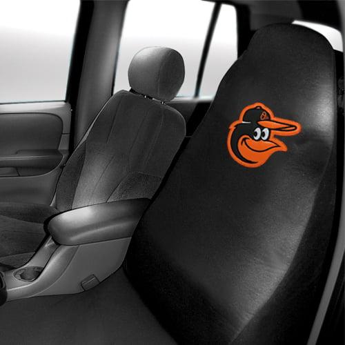 Baltimore Orioles Car Seat Cover - Black - No Size
