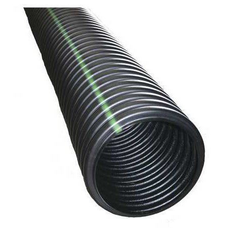 Advanced Drainage Systems 4540010 Corrugated Drainage Pipe 10 Ft L 4In Dia