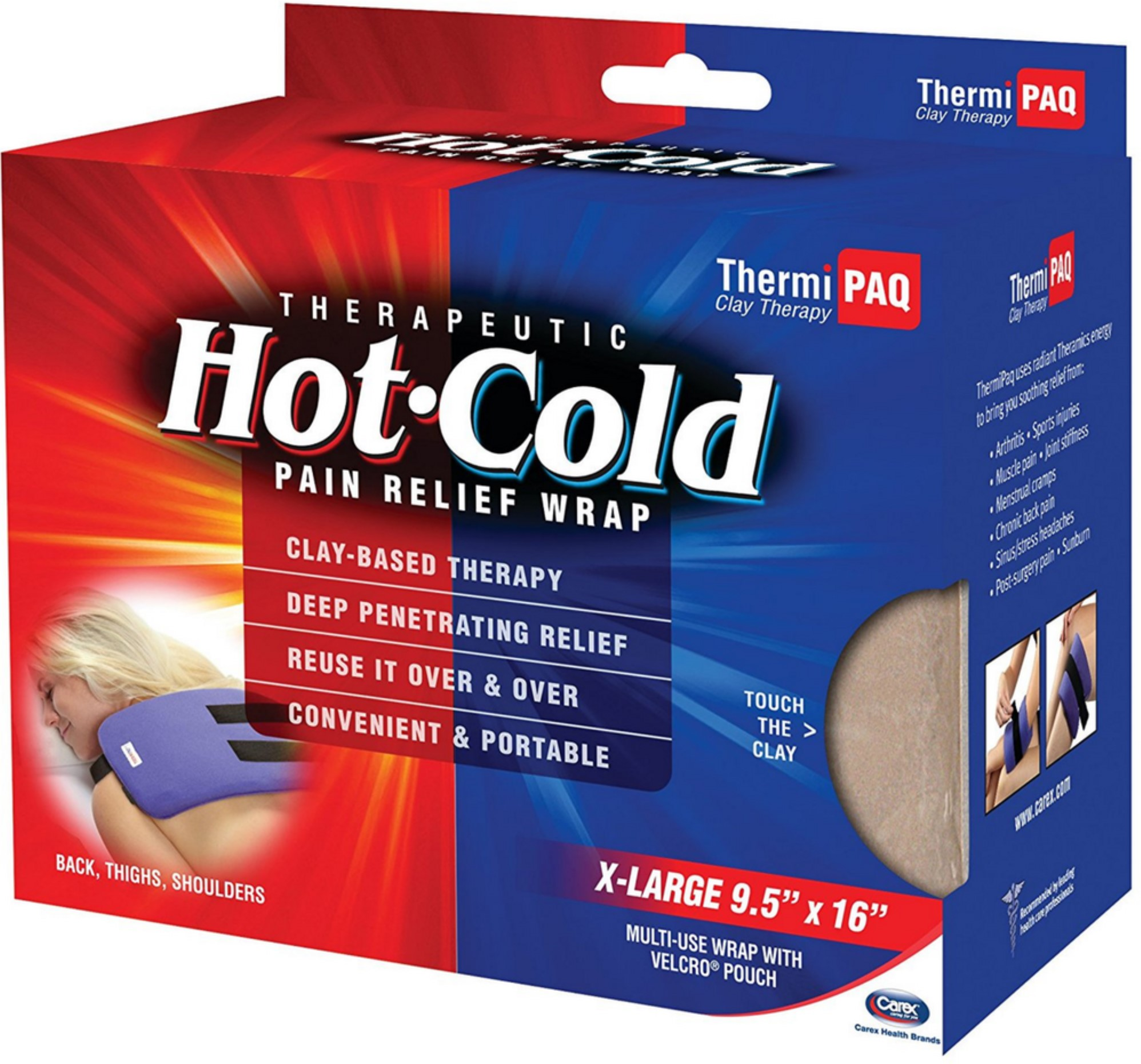 Thermipaq Hot-Cold Pain Relief Wrap, X-Large 1 ea