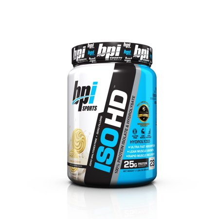 BPI Sports ISO HD Protein Vanilla Cookie, 23 Servings