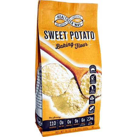 Healthier Way Sweet Potato Baking Flour, 24 oz (One Potato Two Potato Three Potato Four)