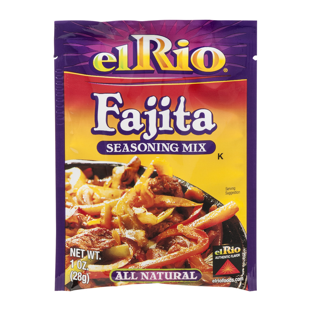 El Rio All Natural Seasoning Mix Fajita, 1.0 OZ