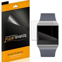 [6-Pack] Supershieldz for Fitbit Ionic Screen Protector, [Full Screen Coverage] Anti-Bubble High Definition (HD) Clear Shield
