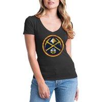 Product Image Denver Nuggets Womens NBA Short Sleeve Baby Jersey V-neck fe22427177