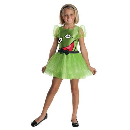 Muppets Kermit Child Dress Costume Rubies 881230
