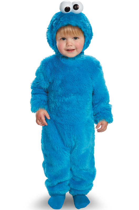 Sesame Street Light Up Cookie Monster Toddler Costume by Disguise