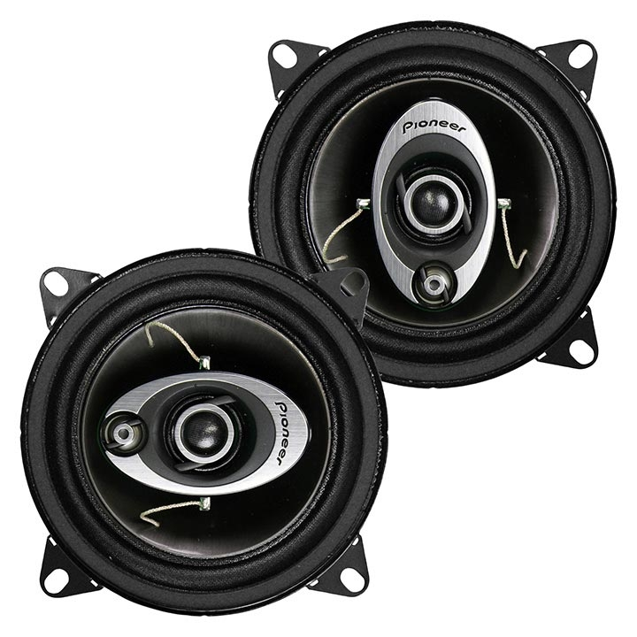 Car Stereo Speaker 4-inch Component Car Speakers Audio 3-way 150 Watts