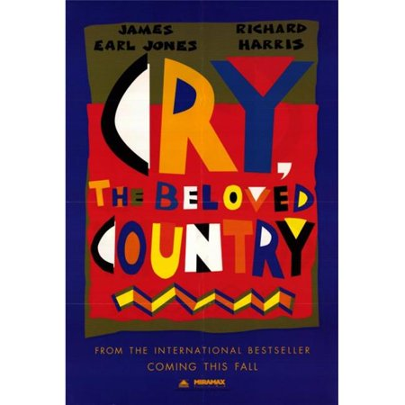 Posterazzi MOVIF8393 Cry the Beloved Country Movie Poster - 27 x 40 in. - image 1 de 1
