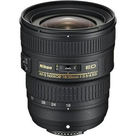 Nikon AF-S FX NIKKOR 18-35mm f/3.5-4.5G ED Zoom Lens with Auto Focus for Nikon DSLR Cameras International Version (No