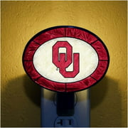 Oklahoma Art Glass Night Light