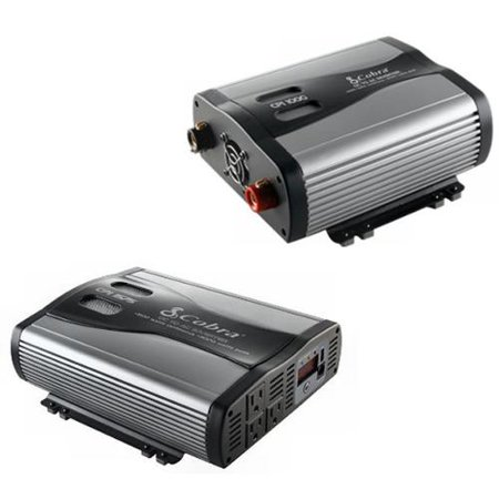 COBRA CPI1575 1500W + CPI1000 1000W Car DC To 120V AC Power Inverters w/USB Out