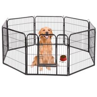 "BestPet Hammigrid 40"" 8 Panel Heavy Duty Pet Playpen Dog Exercise Pen Cat Fence"
