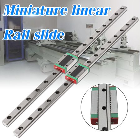 3D Printer MGN12 12mm Miniature Linear Rail Slide 400MM +MGN12H Carriage For (Best 3d Printer For Miniatures)