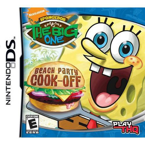 spongebob: the big one - beach party cook-off
