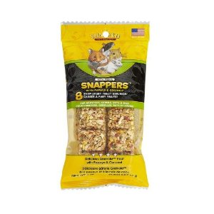 Vitakraft Vita Prima Snappers Treats for Hamsters, Gerbils, Rats & Mice Multi-Colored