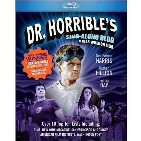 Dr  Horribles Sing Along Blog  Blu Ray