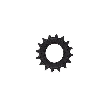 Fenix Bike Bicycle Freewheel 16T x 1/8 Single Speed Screw Type, Various Colors (Black)