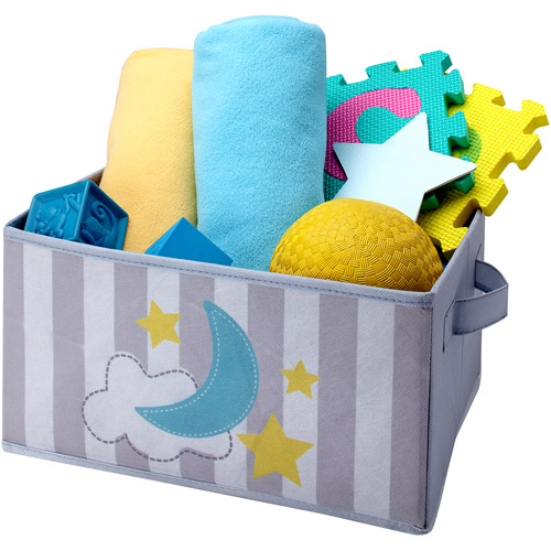 Little Bedding by NoJo Collapsible Storage, Twinkle Twinkle