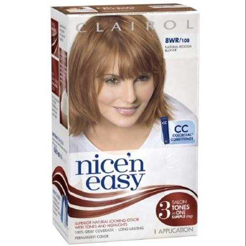 Nice 'n Easy Permanent Color, 8W/108 Natural Reddish Blonde 1 ea (Pack of 2)